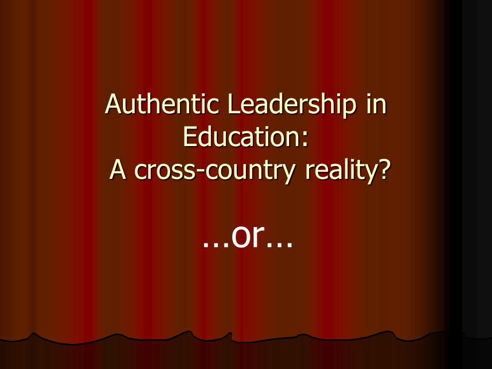 Leaders in their own mind?