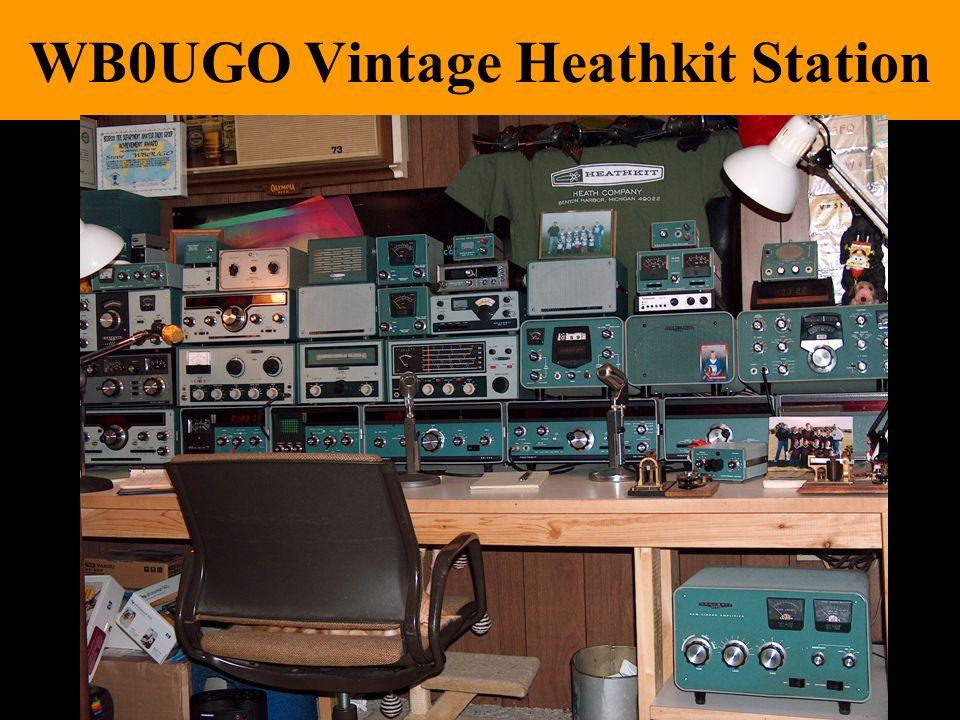 Ver 0.7.511 WB0UGO Vintage Heathkit Station