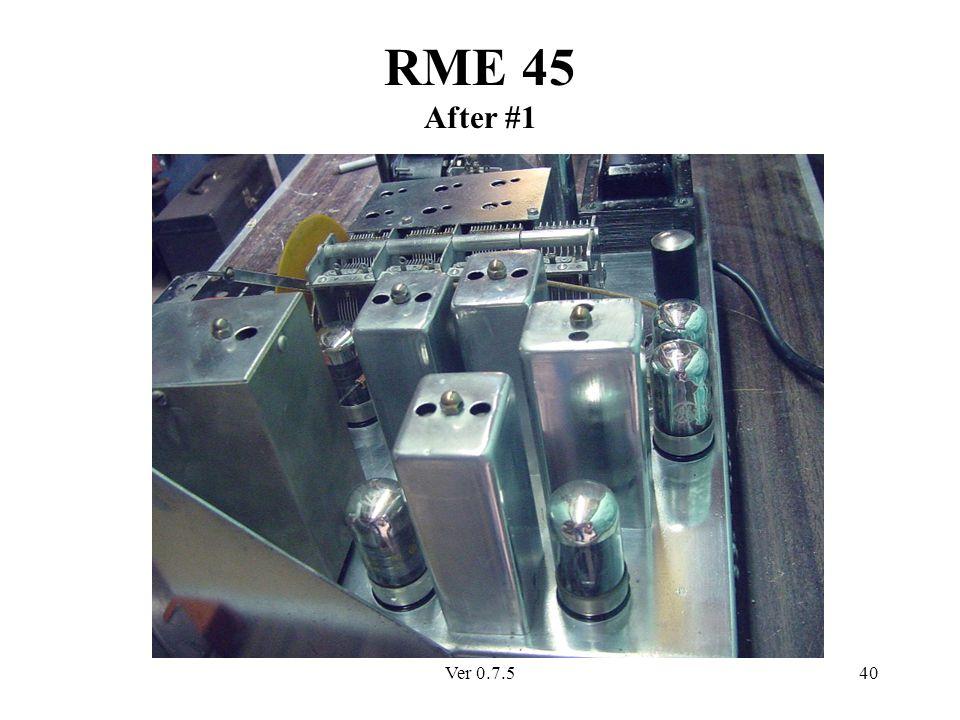 Ver 0.7.540 RME 45 After #1