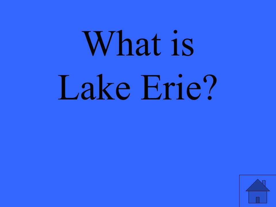 What is Lake Erie