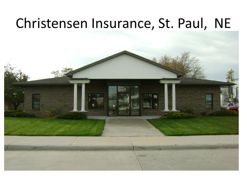 Christensen Insurance, St. Paul, NE