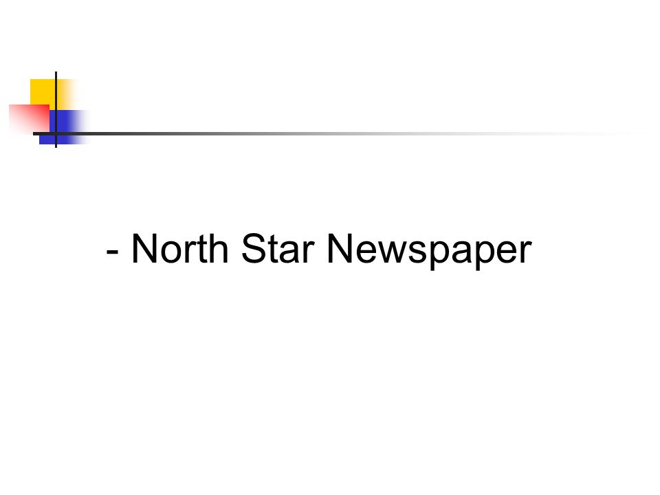 - North Star Newspaper