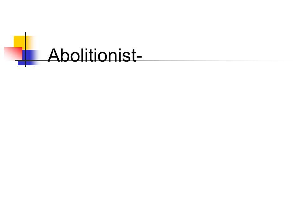 Abolitionist-