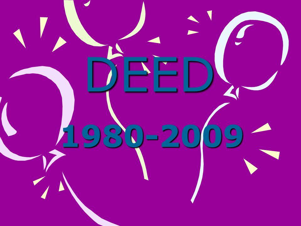 DEED 1980-2009