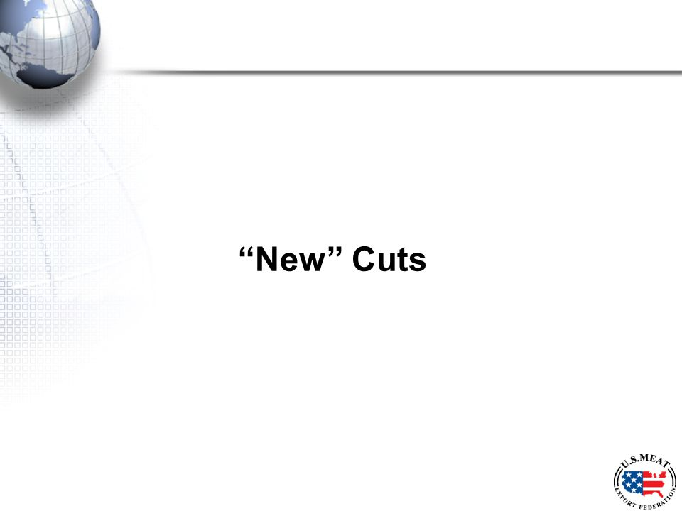 New Cuts