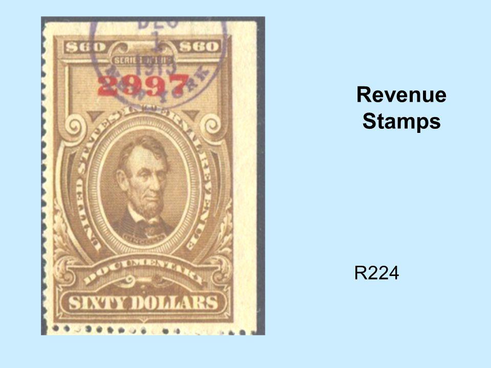 R224 Revenue Stamps