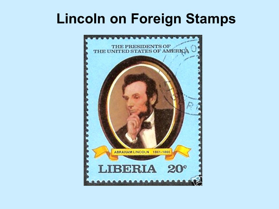 Lincoln on Foreign Stamps
