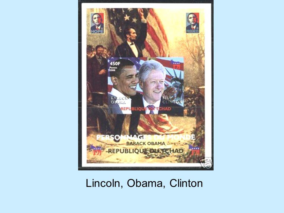 Lincoln, Obama, Clinton