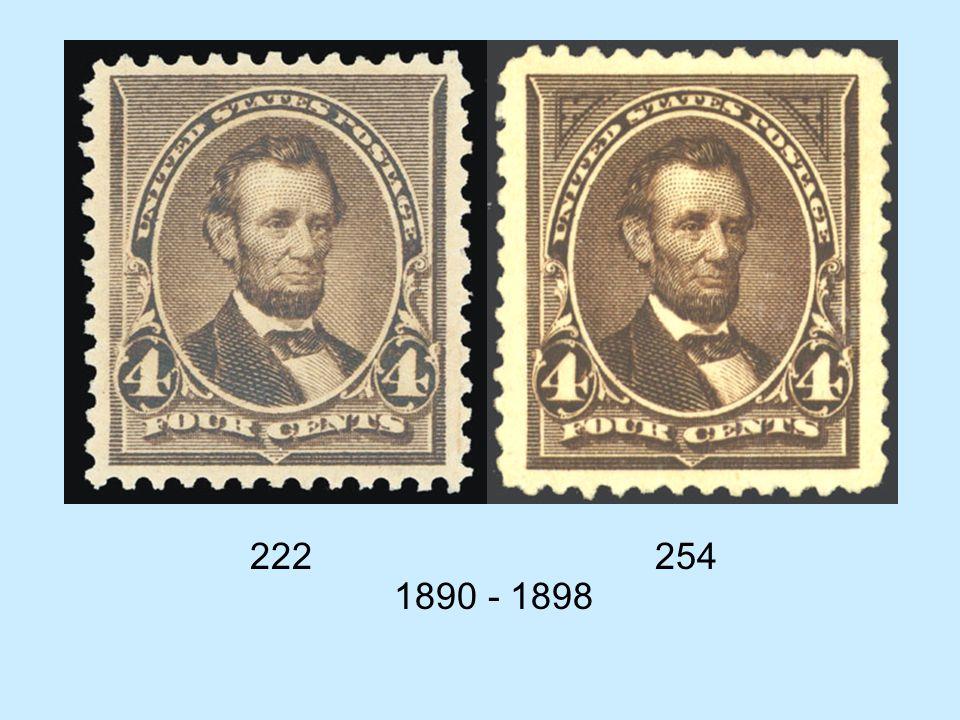 222 254 1890 - 1898