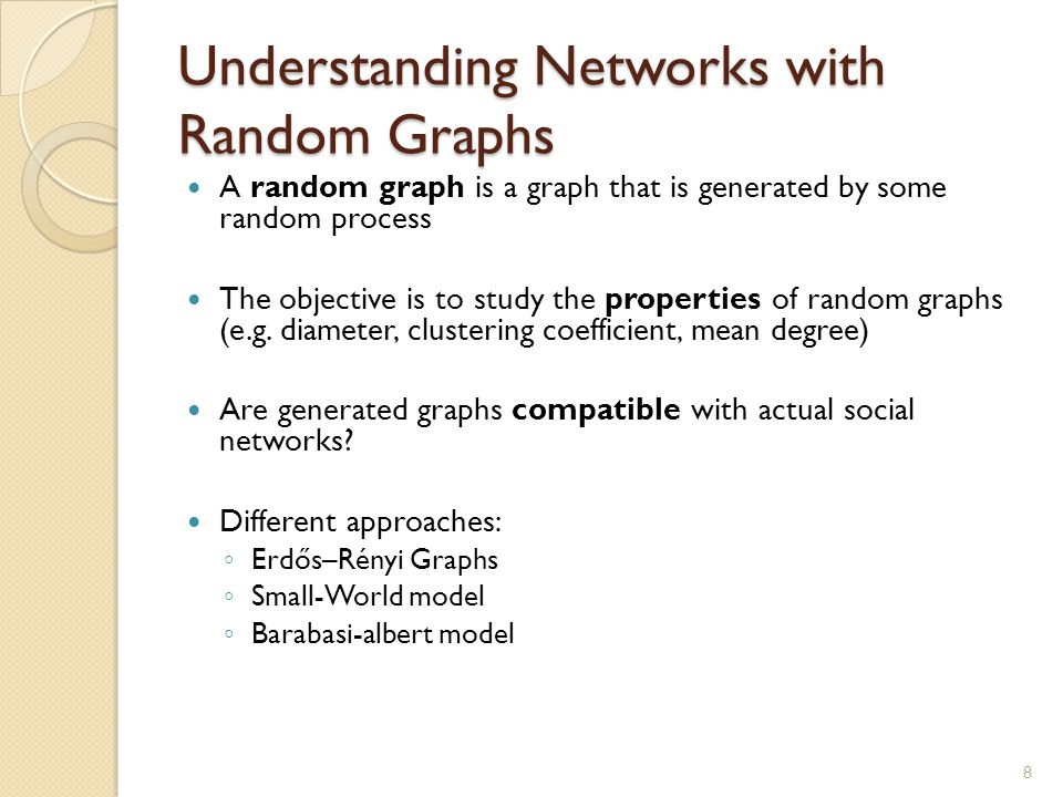 Content-based social networks A special kind of Social Networks The actors (nodes) of the network produce documents ◦ They can be produced by more than one actor  co-authorship relationship Similarity relationship between any 2 actors A and B of the network can be estimated using a function on the set of documents produced Doc(A) and Doc(B) ◦ Sim: DOC(A)  DOC(B)  [0,1] 19