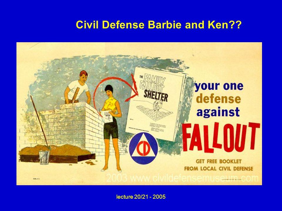 Civil Defense Barbie and Ken??