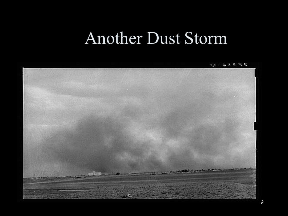 9 Another Dust Storm
