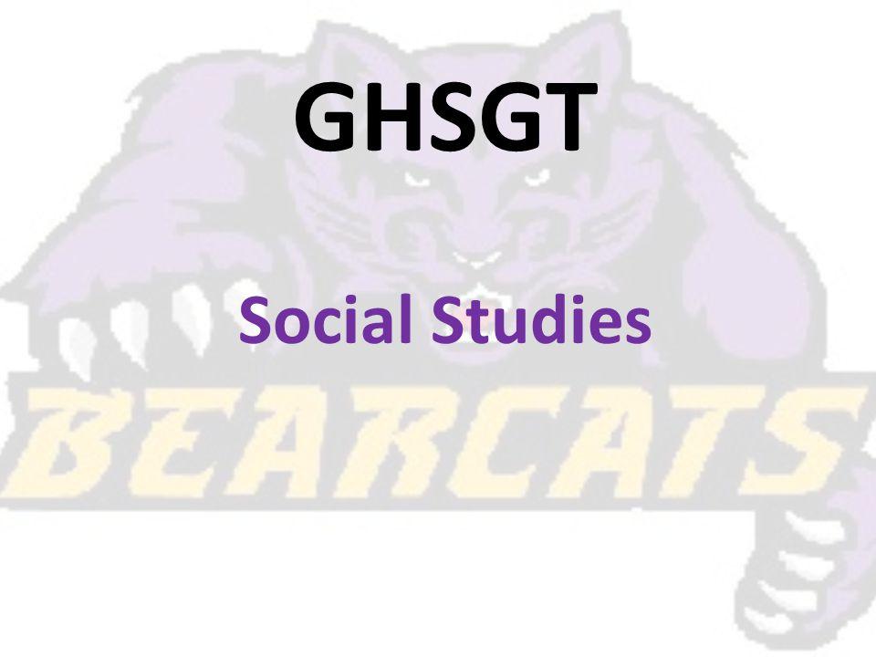 GHSGT Social Studies
