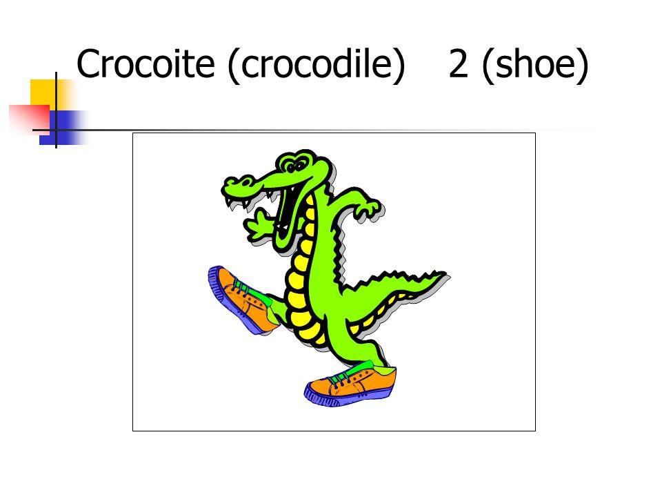 Crocoite (crocodile)2 (shoe)