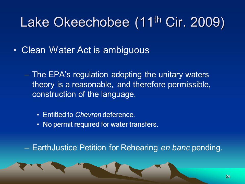 24 Lake Okeechobee (11 th Cir.