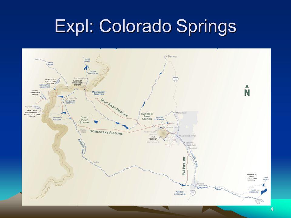 4 Expl: Colorado Springs
