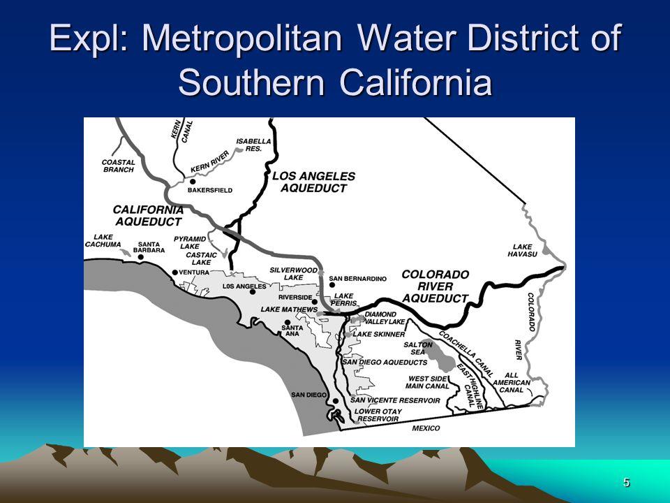 5 Expl: Metropolitan Water District of Southern California