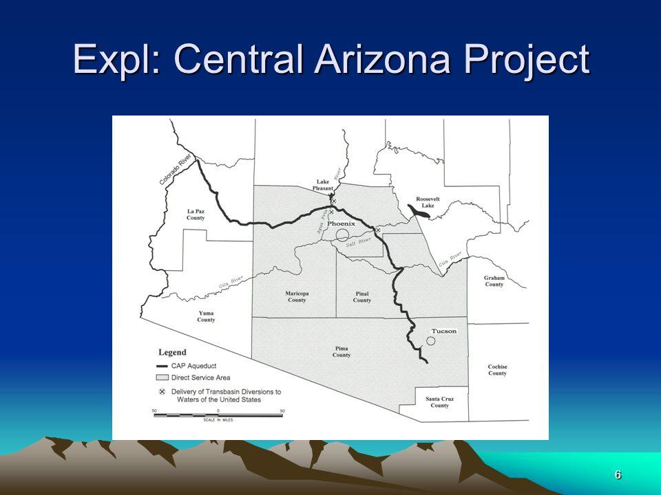 6 Expl: Central Arizona Project