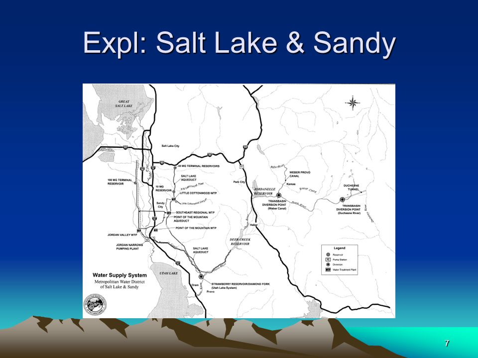 7 Expl: Salt Lake & Sandy