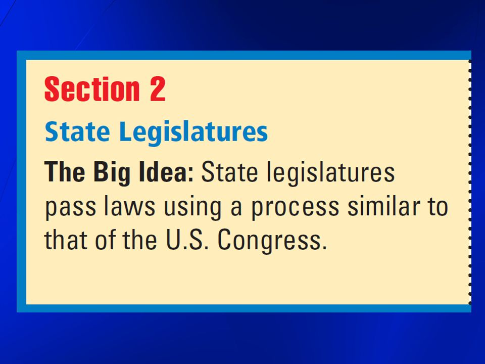 each state has an elected lawmaking body different states have different names for this group 27 states use state legislature 19 states use general assembly Ohio 2 states use legislative assembly 2 states use general court