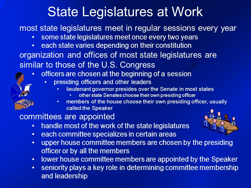 Passing State Laws lawmaking process in state legislatures is similar to the procedure followed in Congress steps for a bill to become a law 1.