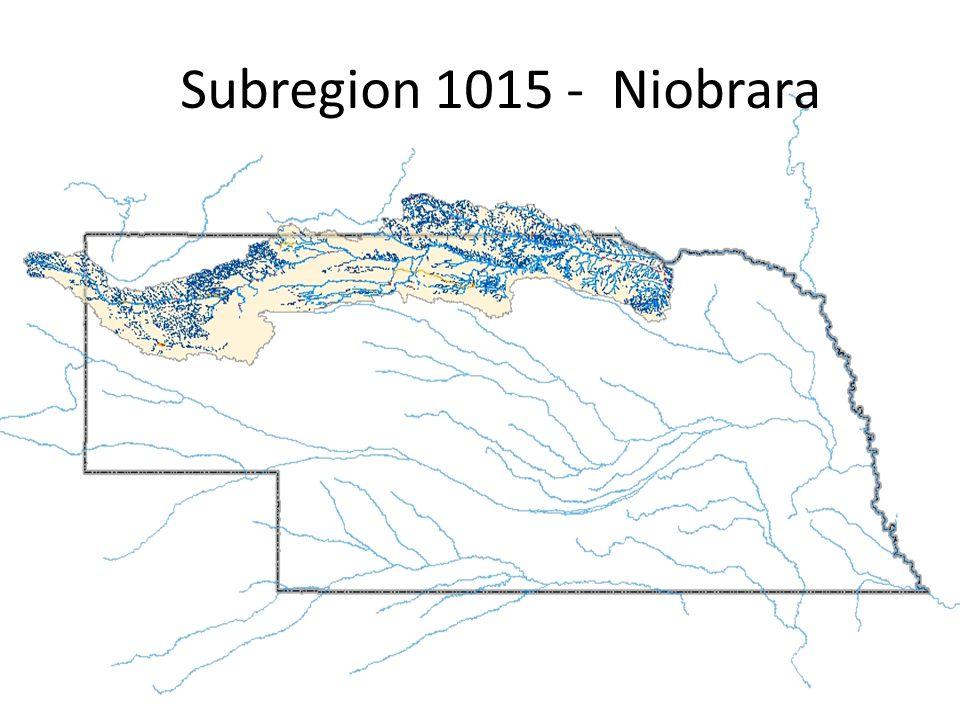 Subregion 1015 - Niobrara