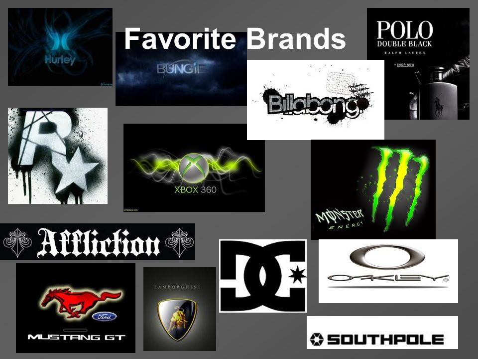Favorite Brands