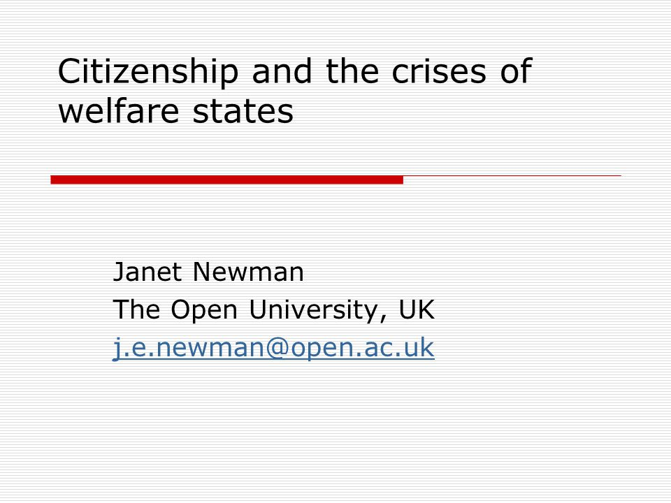 Why citizenship.