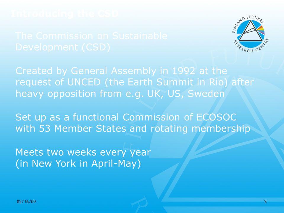 02/16/0914 CSD 14/15 EffectivenessLegitimacy Filling a norm+inst.