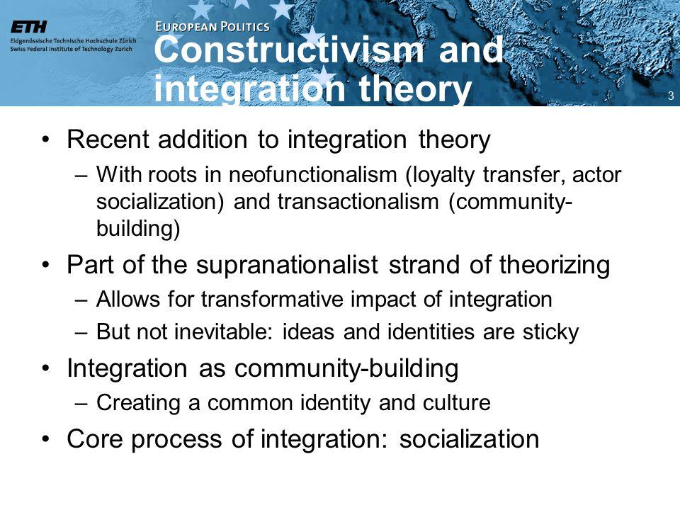 Ideas as limits to integration Risse et al.