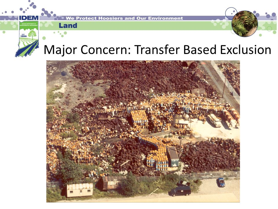 Major Concern: Transfer Based Exclusion