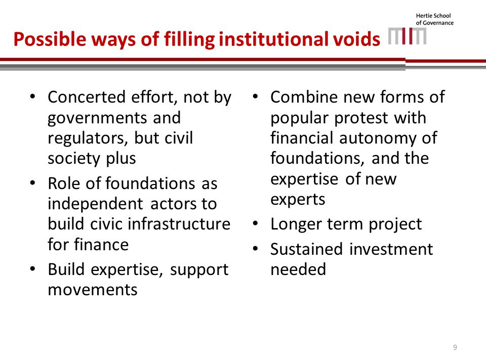 Why civil society is key Civil society organizations have already played a significant role: – Encouraged the IMF to various institutional procedures, e.g.
