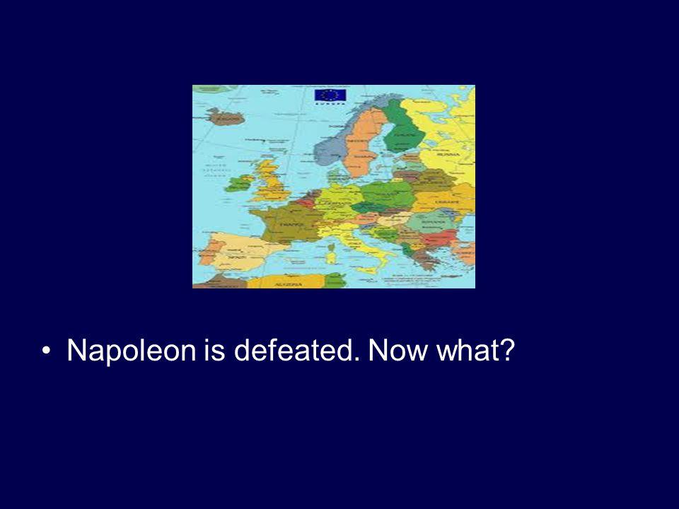 Napoleon conquers Europe.