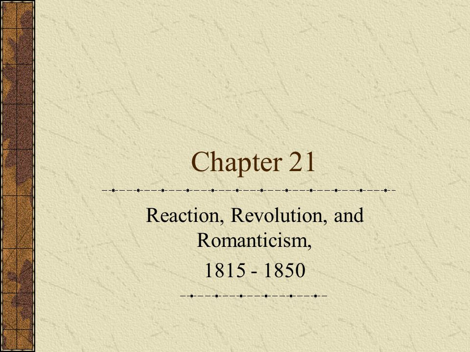 Revolution and Reform, 1830-1850 Another French Revolution Charles X (1824-1830) Liberals were winning elections which angered the king Issued the July Ordinances  Rigid censorship  Dissolved the legislative assembly  Reduced the electorate in preparation for new elections Immediate revolt by liberals