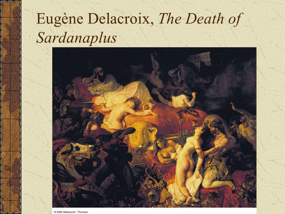 Eugène Delacroix, The Death of Sardanaplus