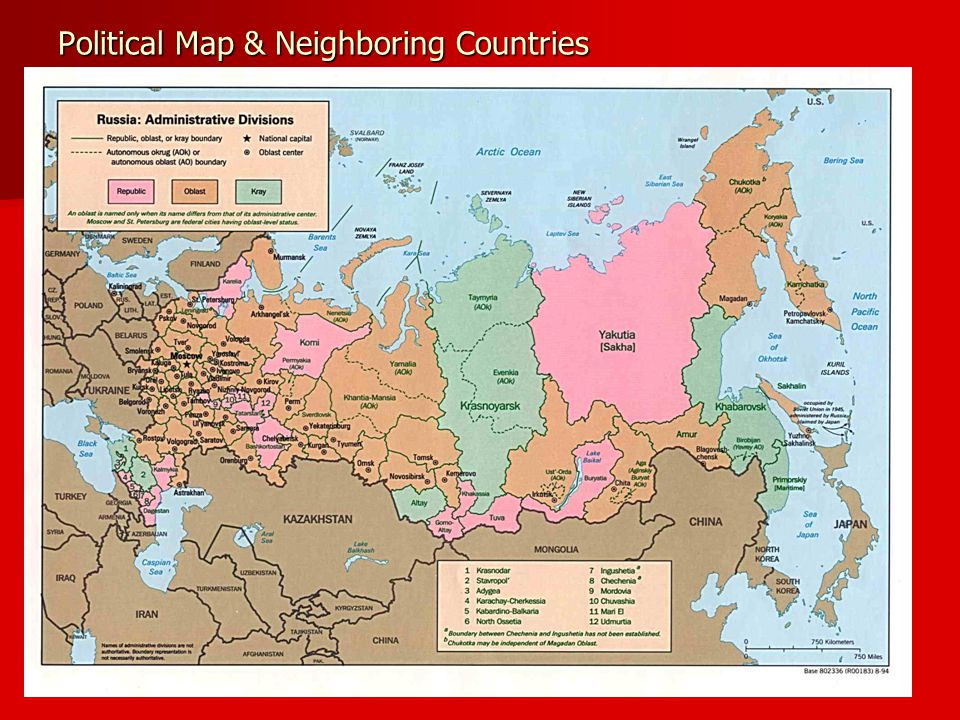 Ethnicities – Russia and Surrounding Areas