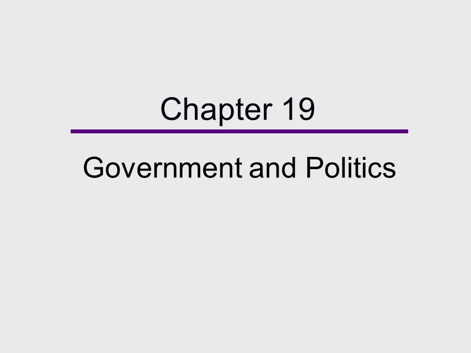 Chapter Outline  Defining the State  Power and Authority  Theories of Power  Government: Power and Politics in a Diverse Society  The Military