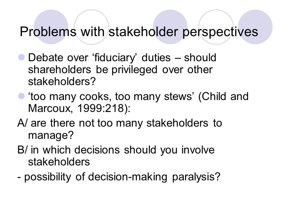 Prioritisation of stakeholders (stakeholder mapping) Level of interest Power C Keep satisfied D Key players A Minimal effort B Keep informed Source: Johnson, Scholes and Whittington, 2005: 182