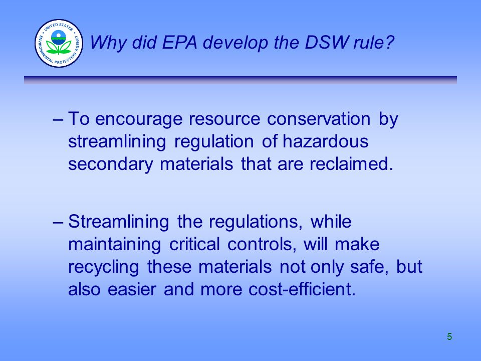 36 Two mandatory factors Materials must provide useful contribution to the recycling process or to a product or intermediate Recycling must produce valuable product or intermediate Two factors must be considered Materials must be managed as valuable commodities Products of recycling must not contain significantly higher levels of hazardous constituents than are in analogous products What is the legitimate recycling provision (cont.)?