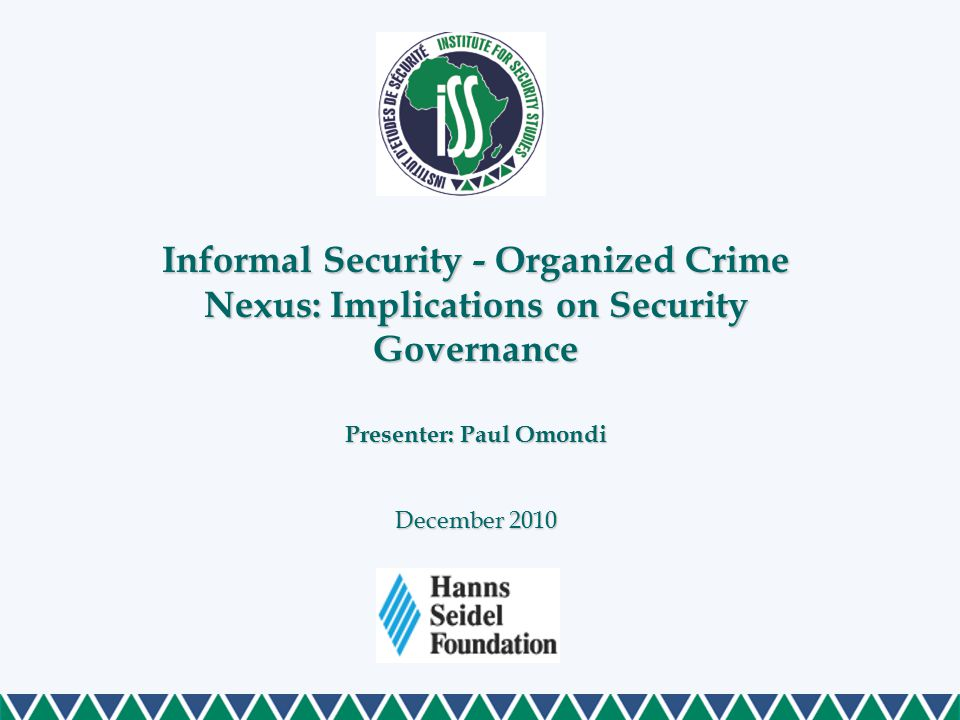 At another level, the scope and nature of police complicity and modus operandi has seriously put to question the capability of criminal justice system Three areas are isolated as essential and in need of address: accountability, professionalism, and efficiency A closer look at criminal justice approach in Kenya (Cont…)