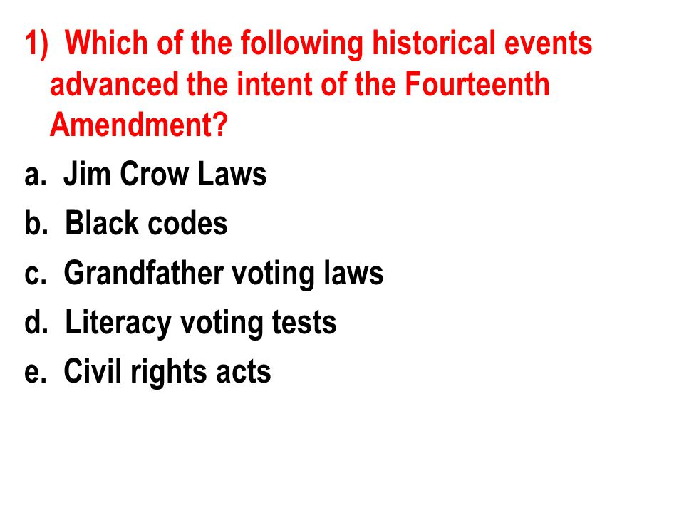 5) Which of the following represents a legal difference between de facto and de jure segregation.