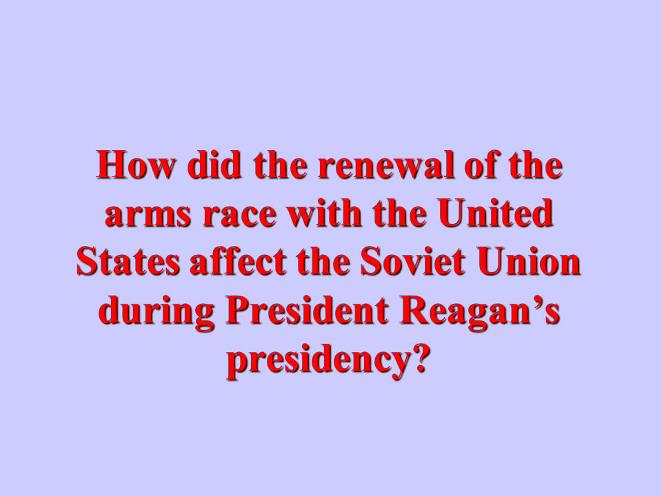 What action did President Reagan take in Western Europe during his first term.