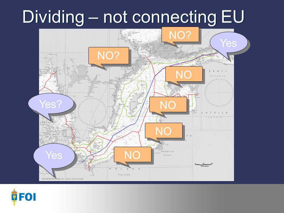 No Common EU Energy Policy.