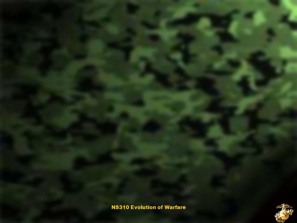 NS310 Evolution of Warfare September 11, 2001