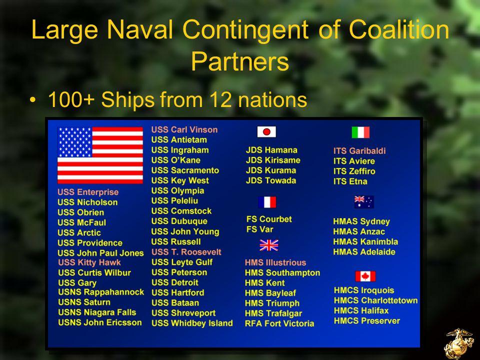 NS310 Evolution of Warfare Leadership Interception Operations After Taliban Fell, Navy was tasked with ensuring no Taliban or Al-Qaida members fled by sea