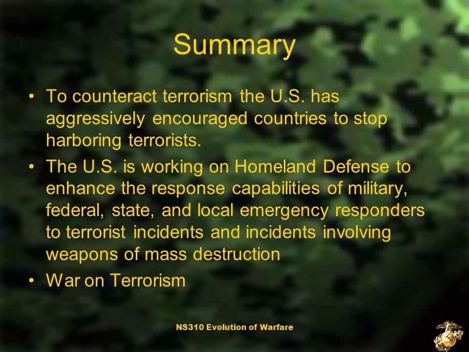 NS310 Evolution of Warfare Targets and Tactics