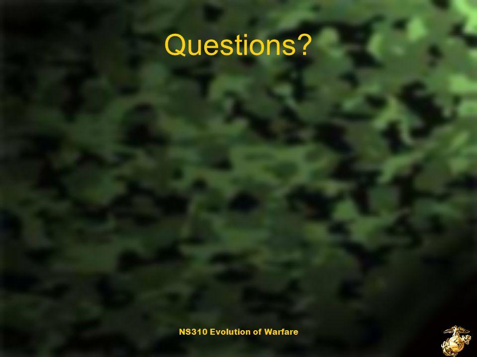 NS310 Evolution of Warfare Summary To counteract terrorism the U.S.