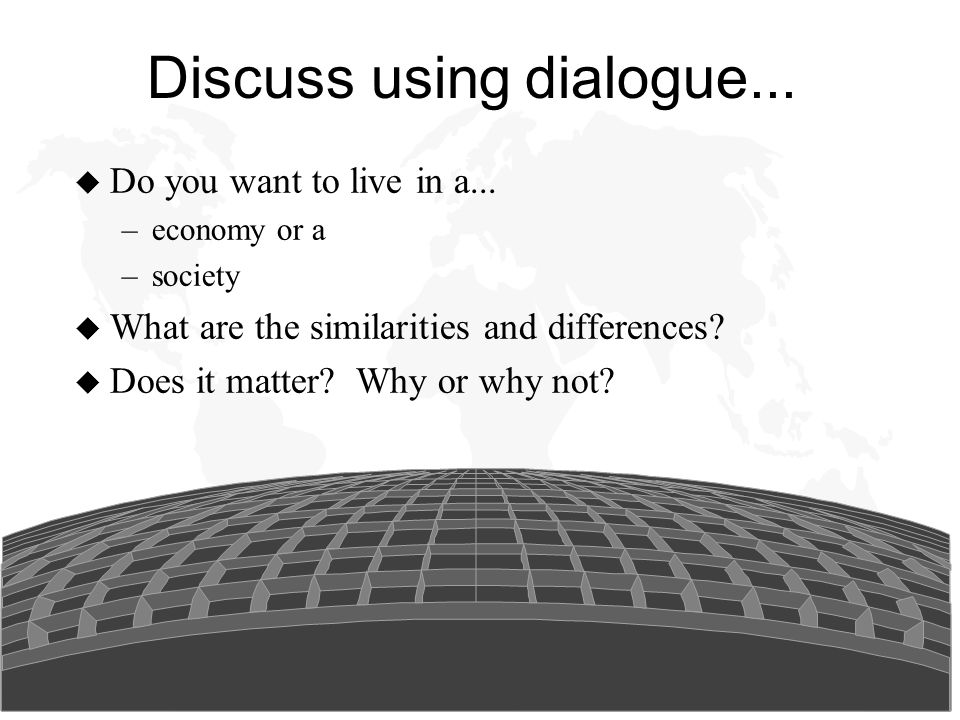 Social Issues in Management Discuss using dialogue...