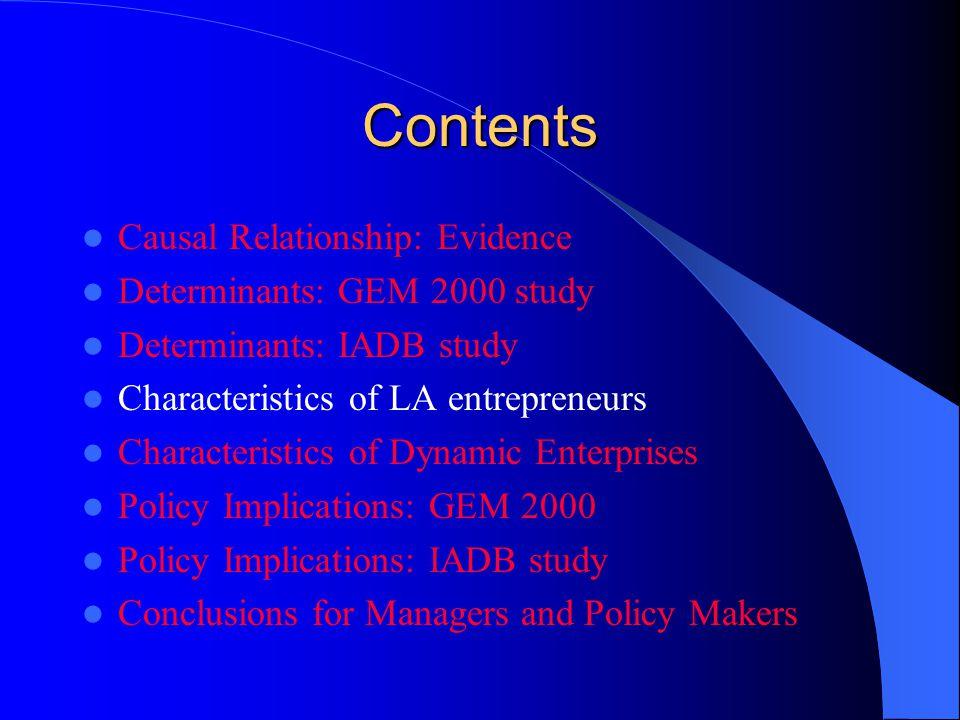 Characteristics of L.A.