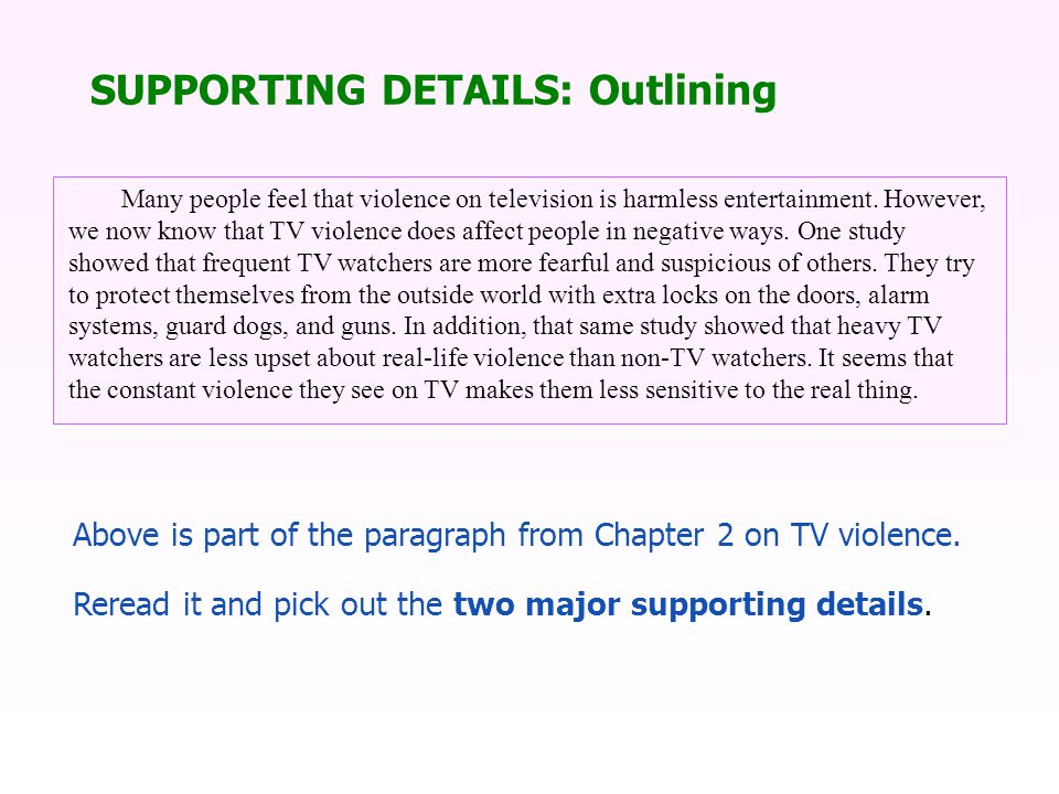 Many people feel that violence on television is harmless entertainment.